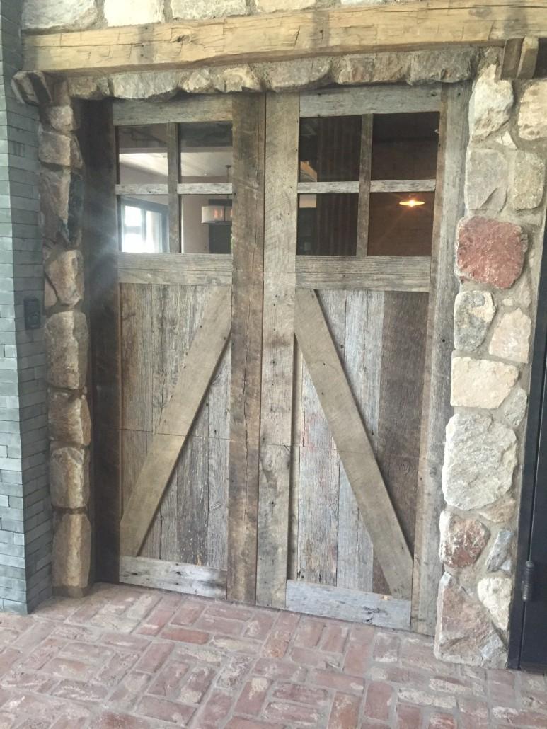 Rustic Wood Garage Doors Gallery Door Design Ideas